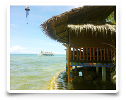 Buddhas View Massage Houses - Bungalow Resort Whispering Palms Philippines